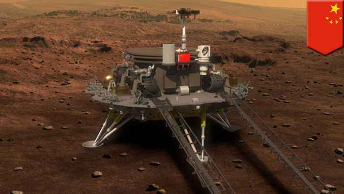 China to launch its Mars Lander Mission in 2020