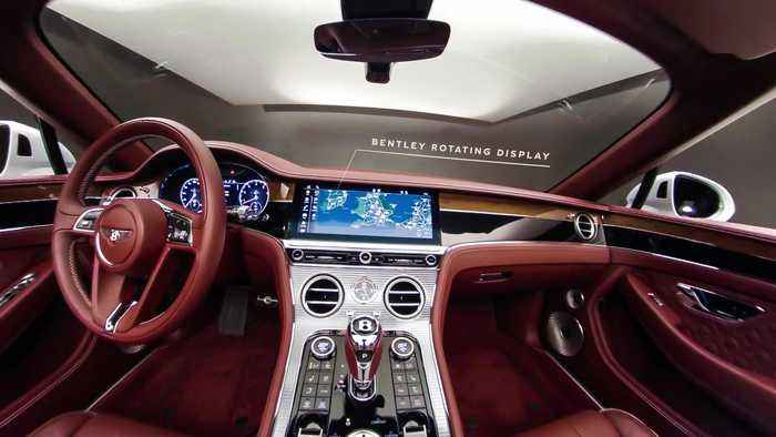 Bentley Continental GT Convertible - 360 Interior Graphical Overlay