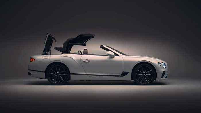 The new Bentley Continental GT Convertible Design in Studio