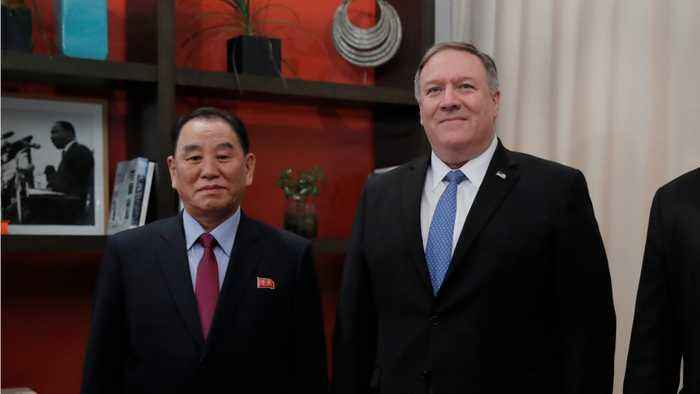 North Korean Nuclear Envoy Meets Pompeo At White House