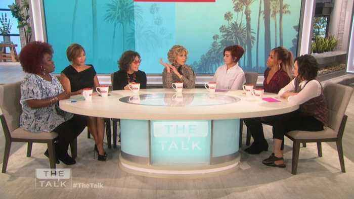 The Talk - Outrageous Q&A: Jane & Lily Spill on Vaping, Vibrators & Tree Stealing.