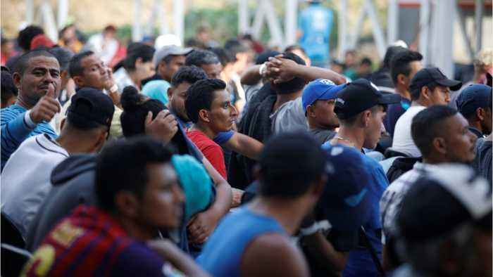 Hundreds More Migrants Join Central American Caravan In Mexico