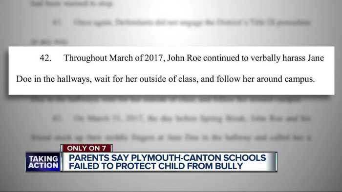 Lawsuit filed against Plymouth-Canton schools for not protecting student from stalking/harassment