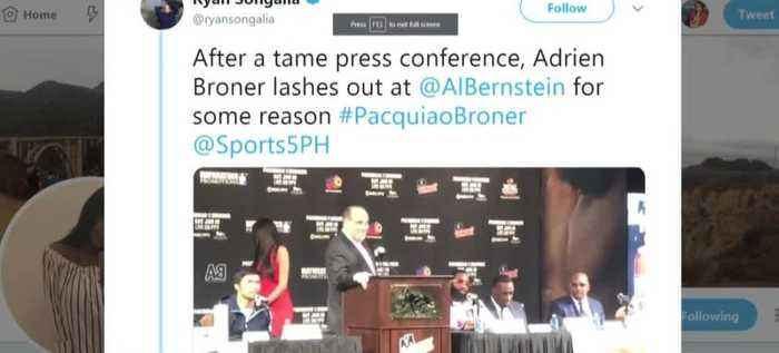 Adrien Broner lashes out at writer