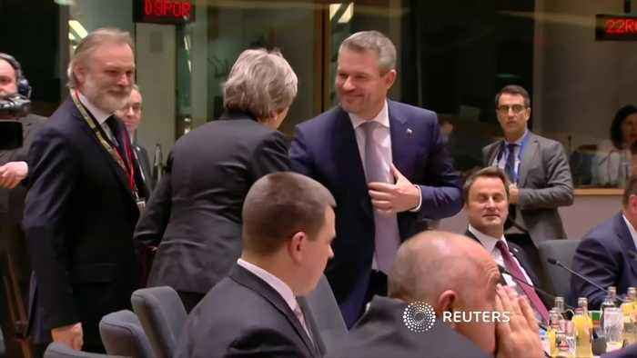 Brussels watches Brexit drama - with popcorn