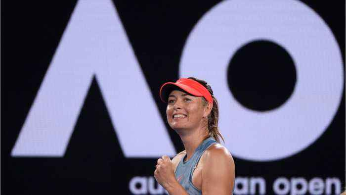 Maria Sharapova Knocks Out Defending Champ Caroline Wozniacki