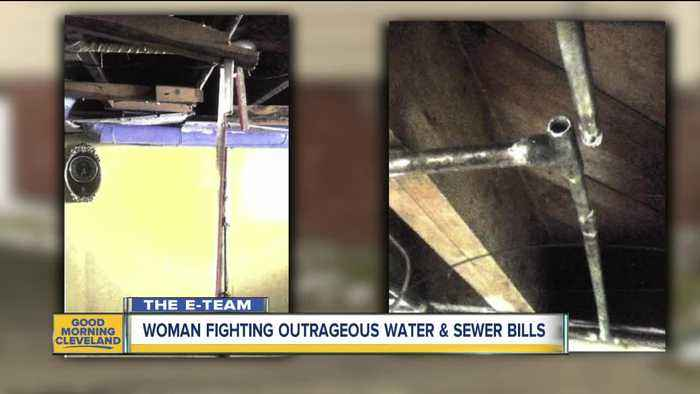Woman fighting outrageous Cleveland Water bill