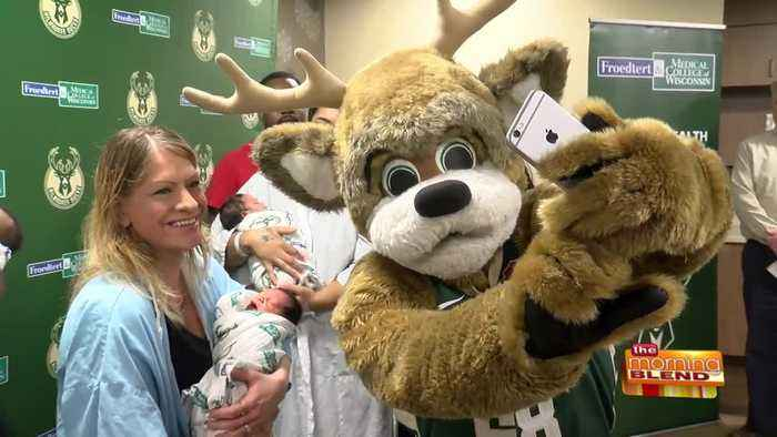 How the Bucks Are Welcoming Newborn Babies