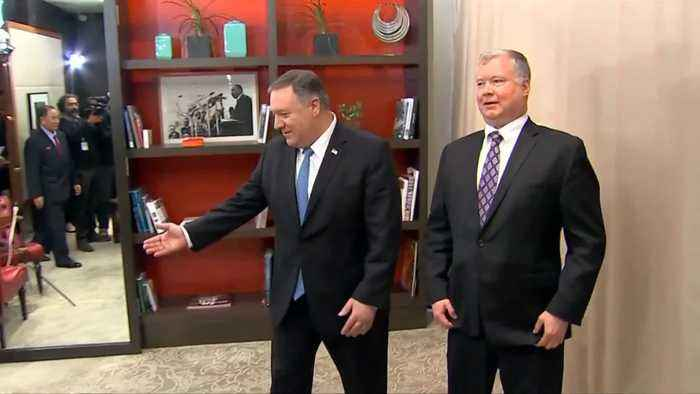 Pompeo meets with top NK nuclear envoy