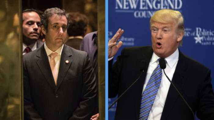 BuzzFeed News: Trump Told Cohen to Lie to Congress