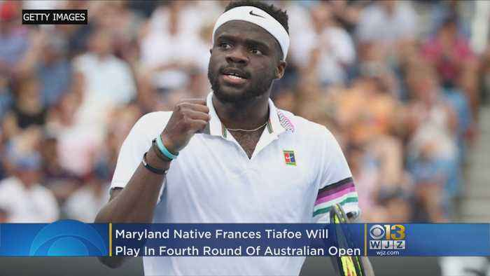Local Tennis Star Frances Tiafoe Advances In Australian Open