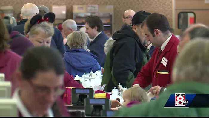 Big storm, Patriots game a double whammy for Maine grocery stores