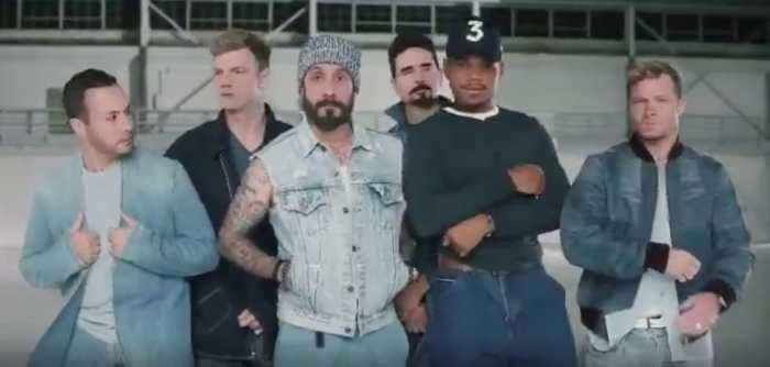 Chance the Rapper, Backstreet Boys Team Up for Super Bowl Commercial