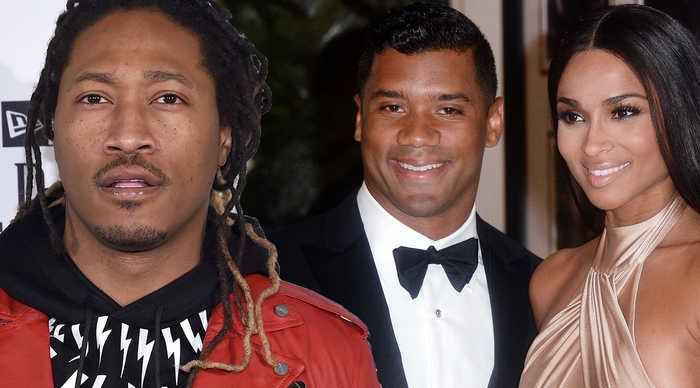 Rapper Future TAKES SHOTS At Russell Wilson Not CONTROLLING His Ex Ciara! 'HE'S NOT A MAN'