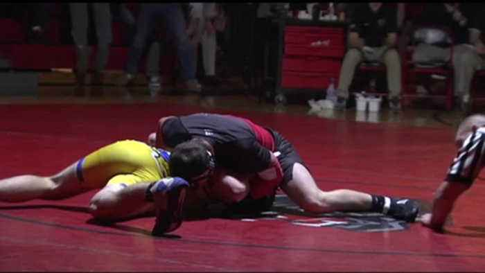 Wilson vs. Saucon Valley Wrestling Highlights