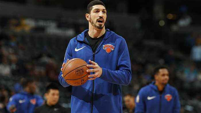 """NBA star Enes Kanter speaks out over """"terrorist"""" claims"""