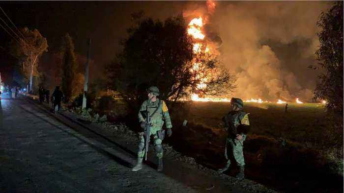 71 Killed By Mexico Fuel Pipeline Blast
