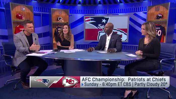 Picking winner of Patriots-Chiefs in AFC Championship Game