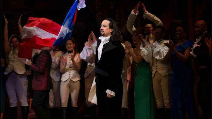 Lin-Manuel Miranda called out someone filming during Hamilton by freestyling during 'My Shot'