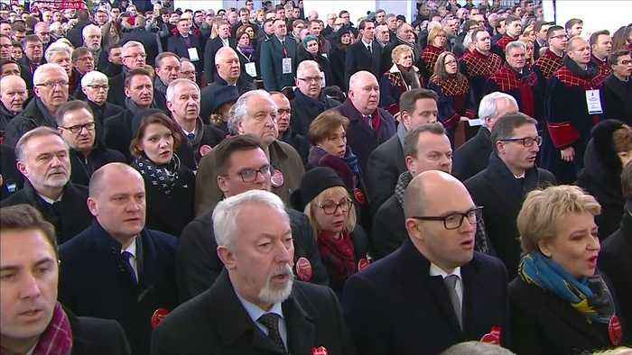 Funeral held for Gdansk mayor stabbed at charity event