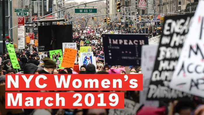 Women's March On NYC 2019 Spreads Message Of Unity Despite Controversy