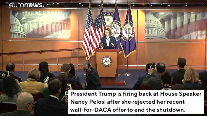 Trump Lashes Out At Pelosi For Rejecting Wall-For-DACA Offer, Threatens To Deport 11 Million Illegals
