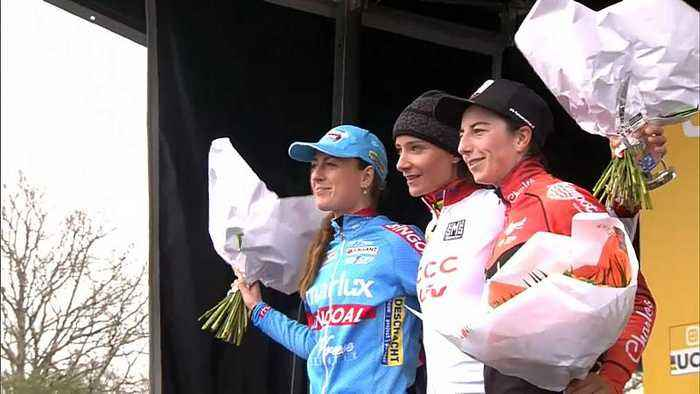UCI Cyclo-Cross World Cup: Vos leads at Pontchâteau