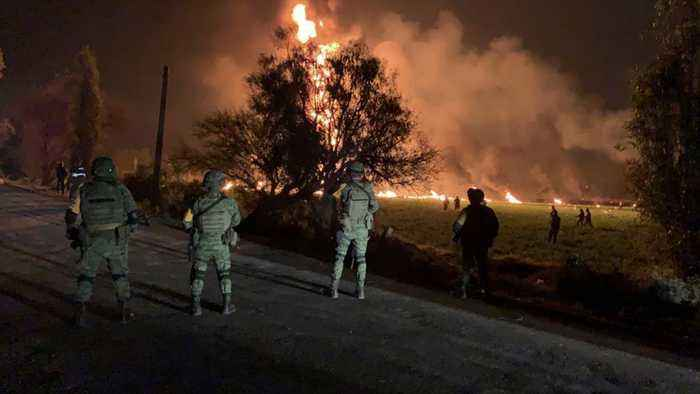 Mexico: Pipeline Explosion Death Toll Rises To 79,