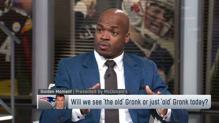 Redskins running back Adrian Peterson: I think we will see the 'old Rob Gronkowski' vs. Kansas City Chiefs