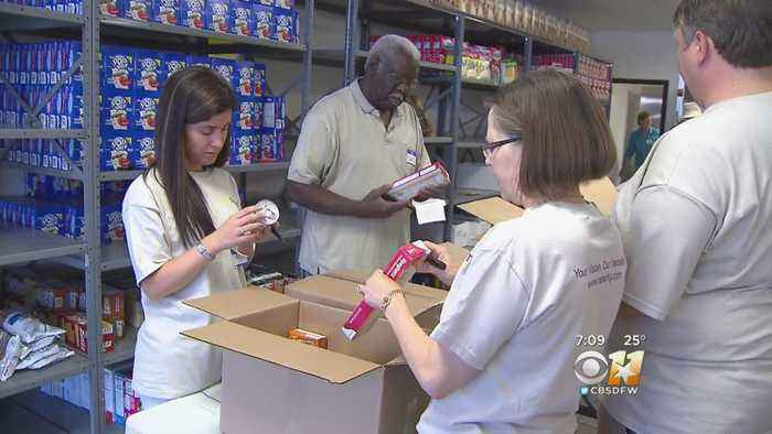 Food Pantry In Plano To Have Special Giveaway For Furloughed Workers On MLK Day