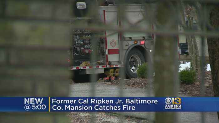 Former Cal Ripken Jr. Mansion Contained After Catching Fire