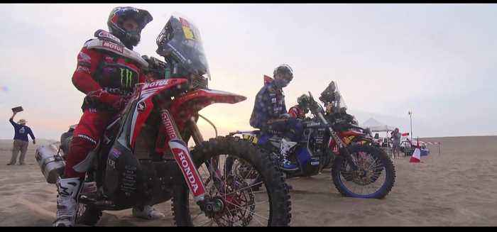 Monster Energy Honda Team Dakar 2019 Stage 9