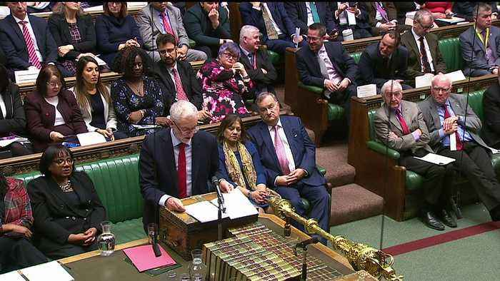 Corbyn says May is in 'deep denial' over Brexit defeat