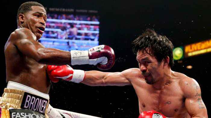 Manny Pacquiao Gets KO'd By Burglars While He Was Busy Beating Up Adrien Broner