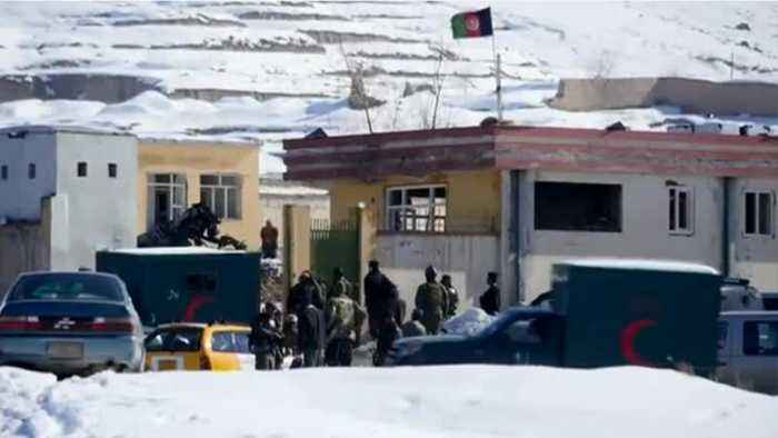 Taliban Attack On Afghan Security Base Kills Over 100