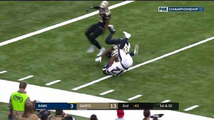 Jared Goff's best passes against the Saints | NFC Championship Game