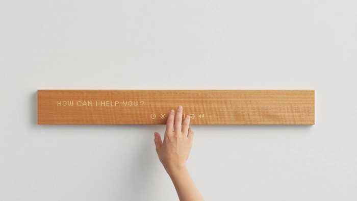 MUI: A Smart Device Made of Wood