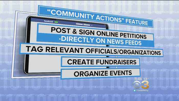 New Facebook Feature Allows Users To Sign Petitions Right On News Feed
