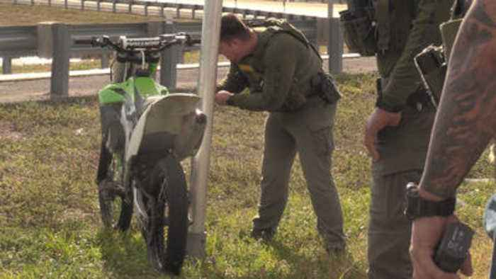 Dozens of ATV and dirt bikes seized in crackdown on 'wheels up, guns down' ride-outs