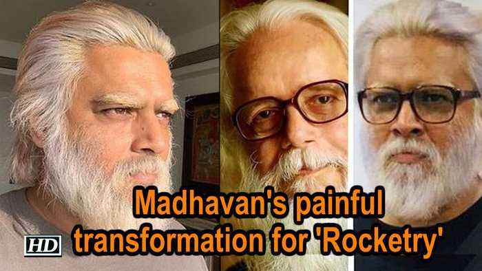 Madhavan's painful transformation for 'Rocketry - The Nambi Effect'