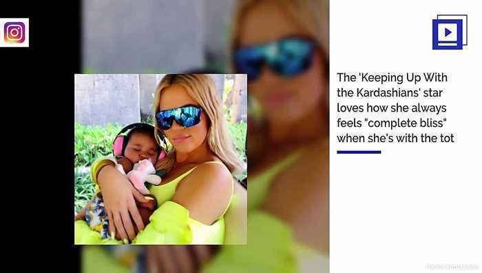Khloe Kardashian Says She Is Empowered by Her Daughter