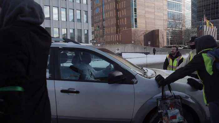 Video Shows Car Driving into People at Grand Rapids Women`s March