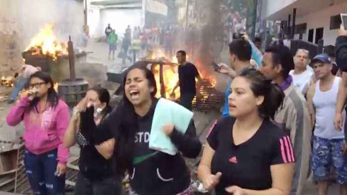 Protests Erupt in Venezuela After Failed Military Revolt