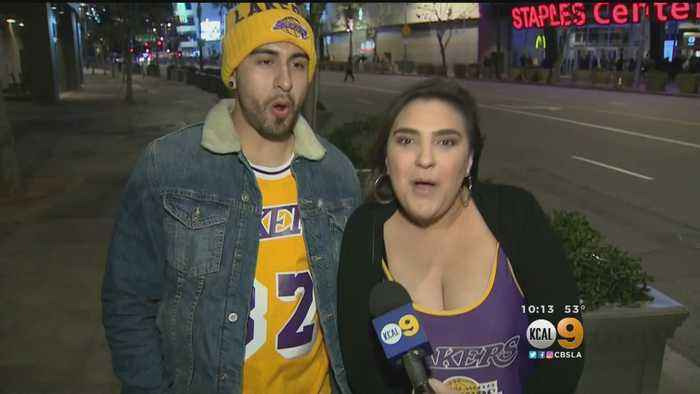 Rams Fans In Frenzy For Super Bowl