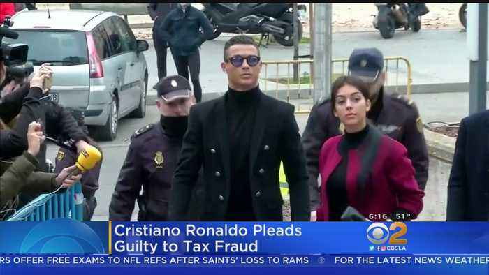 Soccer Star Cristiano Ronaldo Pleads Guilty To Tax Fraud