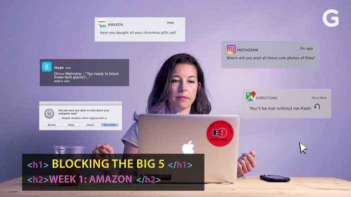 I Tried To Block Amazon From My Life | Blocking Tech Giants Week 1