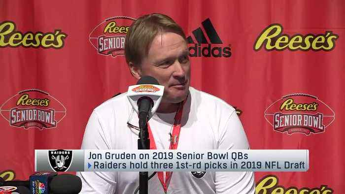 Oakland Raiders head coach Jon Gruden: Oklahoma Sooners quarterback Kyler Murray makes me throw out 'all the prototypes I once h