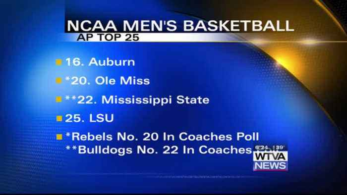 Tennessee No. 1 in AP Top 25