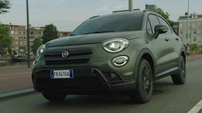 The new Fiat 500X S Design Preview