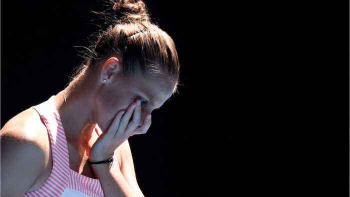Serena Williams Shocked By Karolina Pliskova
